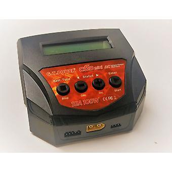 Мини зарядное устройство G.T.Power C6D 220 V, 100W