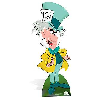 The Mad Hatter fra Alice I Eventyrland Disney Lifesize Pap Cutout / Standee / Stand Up