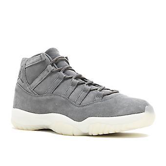 Air Jordan 11 Retro Prem 'Grey Suede' - 914433-003 - Shoes