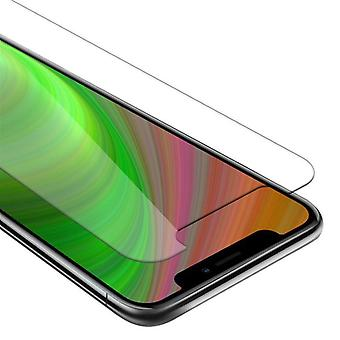 Cadorabo Tank Foil for Apple iPhone XS MAX - Protective Film in KRISTALL KLAR - Tempered Display Protective Glass in 9H Hardness with 3D Touch Compatibility