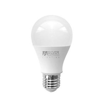 Spherical LED Light Bulb Silver Electronics ECO E27 15W White light/6000K