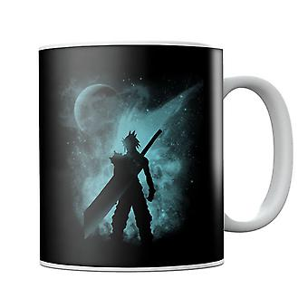 Ex Soldier Sihouette Cloud Strife Final Fantasy VII Mug