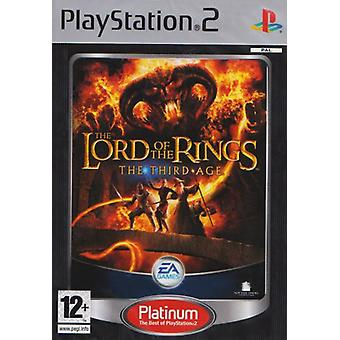 Lord of the Rings The Third Age Platinum (PS2) - Nieuwe fabriek verzegeld