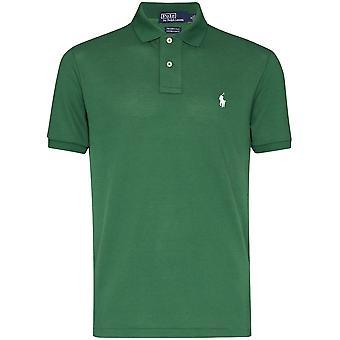 Ralph Lauren Ezcr012013 Men's Green Cotton Polo Shirt