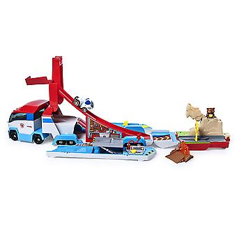 Paw Patrol True Metal Paw patroller Launch ' n ' Hauler