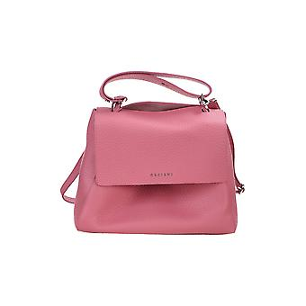 Orciani Bt2006softbubble Women's Pink Leather Handbag