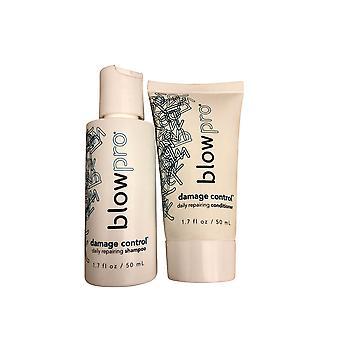 Blowpro Damage Control Travel Shampoo & Conditioner Set 1.7 OZ Each