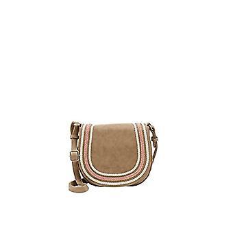Fritzi aus Preussen GRETA Women's Beige shoulder bag (Beige 29/Wales)) 6.5x19x20.5 cm (B x H x T)