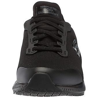 Skechers para hombre 77222 suave Punta Slip en los zapatos de seguridad