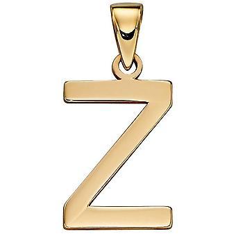 Elements Gold Z Pendant - Gold