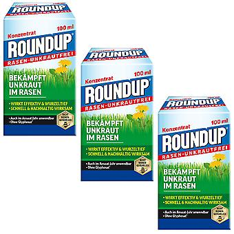 Sparset: 3 x ROUNDUP® Lawn Weed-Free, 100 ml