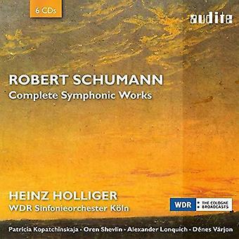 Schumann / Shevlin / Koln - Schumann / Shevlin / Koln: Complete Symphonic Works [CD] USA import