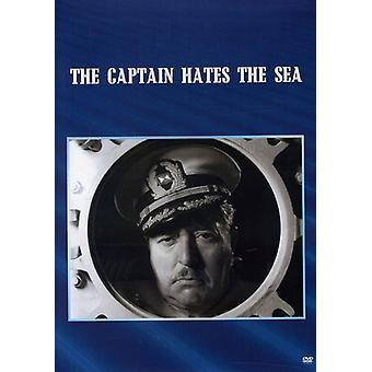 Captain Hates the Sea [DVD] USA import