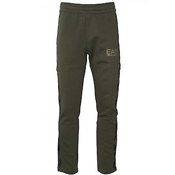 EA7 Khaki Graphic Jog Pant