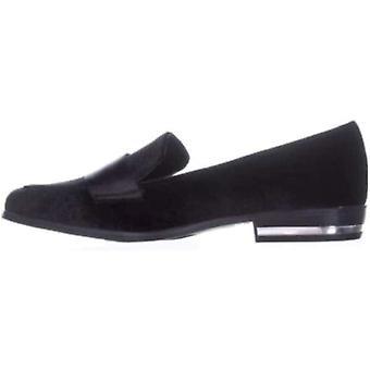Bar III Women's Shoes Involve2f Velvet Almond Toe Loafers