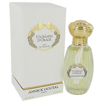 Un Matin D'orage Eau De Toilette Spray By Annick Goutal 3.4 oz Eau De Toilette Spray