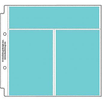 تصميم خربشة تصميم عمودي صورة / وصفة بطاقة حماة 8x8 بوصة (12pcs) (3499)