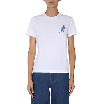 Ps Door Paul Smith W2rg799ep210401 Women's White Cotton T-shirt