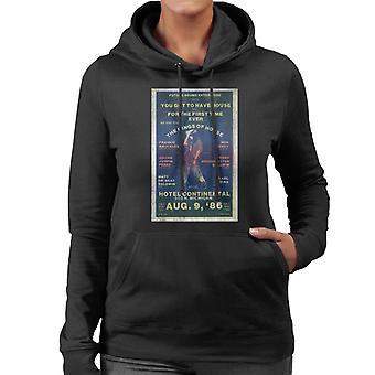 DJ International Kings Of House '86 Poster Women's Hooded Sweatshirt