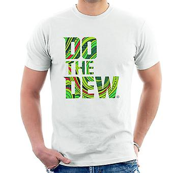 Mountain Dew Do The Dew Slogan Men's T-Shirt