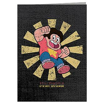 Steven Universe Retro Japanese Greeting Card