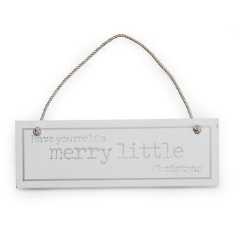 Petite boutique de Noël vous avez un petit signe de Noël très joyeux