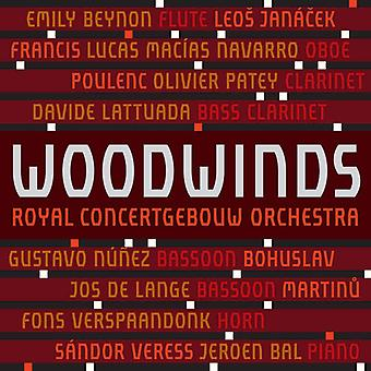 Janacek / Martinu / Poulenc / Verspaandonk - Woodwinds of the Royal Concertgebouw Orchestra [SACD] USA import