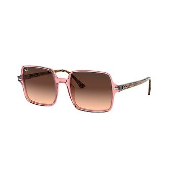 Ray-Ban Square II RB1973 1282A5 Pink/Pink Brown Gradient Sunglasses