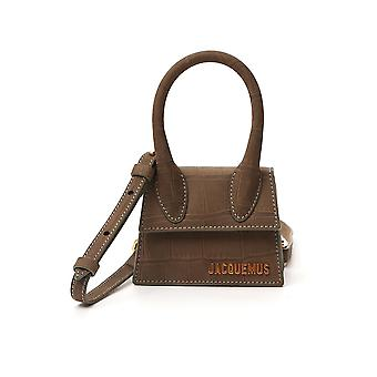 Jacquemus 203ba01203301570 Women's Brown Leather Schoudertas