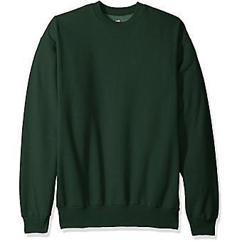 Hanes Men's Ecosmart Fleece Sweatshirt,Deep Forest,XL