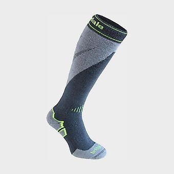 Bridgedale Men's Ski Midweight+ Merino Endurance Over Calf Sock Grey
