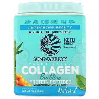 Sunwarrior, Collagen Building Protein Peptides, Natural, 17.6 oz (500 g) Sunwarrior, Collagen Building Protein Peptides, Natural, 17.6 oz (500 g) Sunwarrior, Collagen Building Protein Peptides, Natural, 17.6 oz (500 g) Sunwar