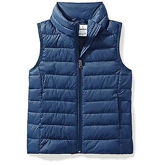 Essentials Big Girls' Letvægts vandafvisende Packable Puffer Vest...
