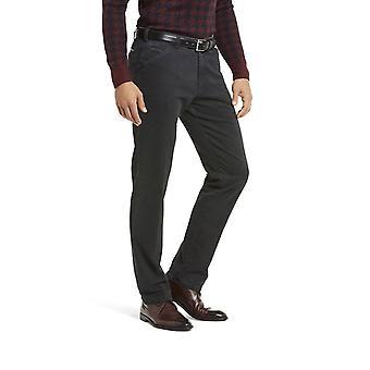 Meyer Chicago Cotton Trouser Dark Grey