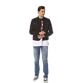 Trussardi Jeans K Black Jacket TR823714-IT46-S