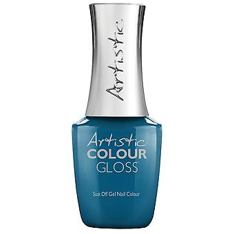 Artystyczny kolor połysk sofly 2019 Soak-Off Gel Summer Collection - Aqua Attitude 15ml