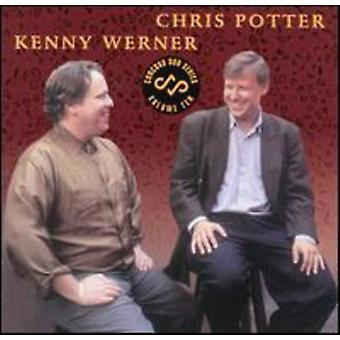 Potter/Werner - Concord Duo serie No. 10 [CD] USA import
