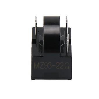 Frigider Compresor PTC Releu Starter 22 Ohm 3 Pini Negru