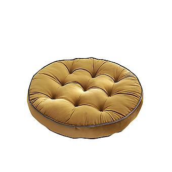 Soft cushion chair cushion, round and comfortable home raised cushion with handle