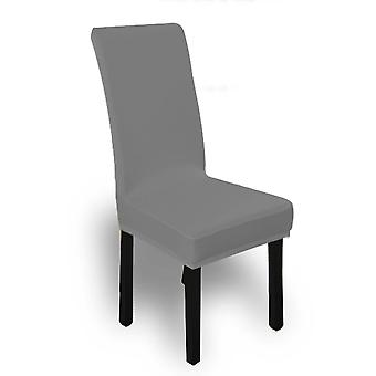 8X Stretch Elastic Chair Covers Dining Room Wedding Banquet Washable Grey