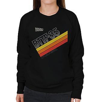 Back to the Future 35th Anniversary 121 Gigawatts Women's Sweatshirt