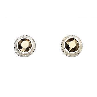 Begyndelser sterling sølv A989Y stud øreringe
