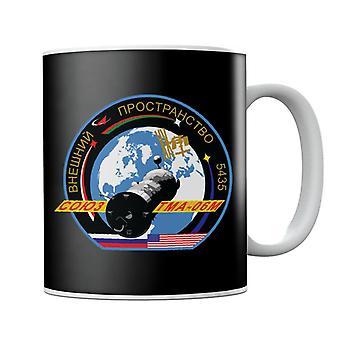NASA Roscosmos TMA 06M Soyuz Spacecraft Mission Patch Mug
