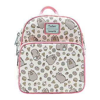 Pusheen Mini Backpack Snackies All over Print new Official Loungefly
