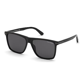 Tom Ford Fletcher TF832-N 01A Kiiltävä musta/Savu Aurinkolasit