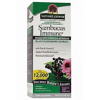 Natur's Svar Sambucus Immune, Svart Elderberry 8 oz