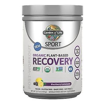 Giardino della Vita Sport Organico Post-Allenamento Recupero, Blackberry Lemonade 15.7 Oz
