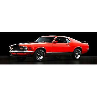 Ford Mustang Mach 1 Poster Print by Gasoline Images