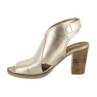 Bella Vita Kadın Vivitaly Deri Peep Toe Casual Slingback Sandalet