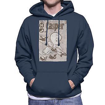 Casper Den venlige Ghost Birds Flying Mænd's Hooded Sweatshirt
